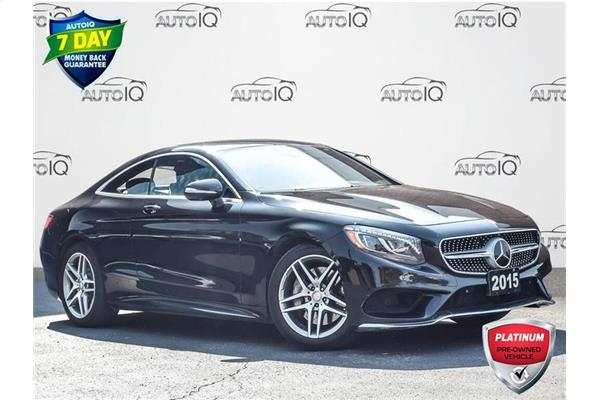 Mercedes-Benz S-Class S550 4MATIC COUPE  LEATHER  GPS  LOW KILOMETERS 2015